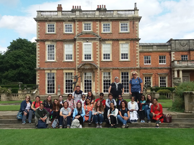 Newby Hall, Mary Ward Family
